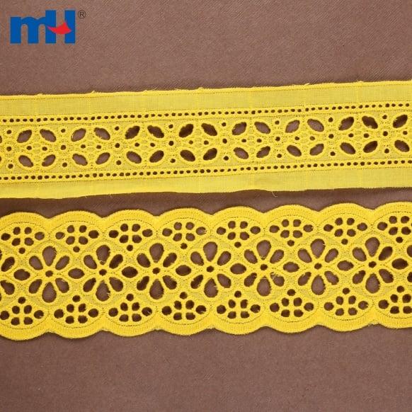 Bordure en dentelle de coton 0573-1438-1