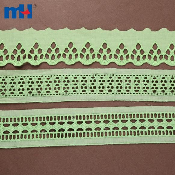Bordure en dentelle de coton 0573-1378-1