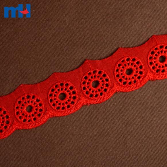 Bordure en dentelle de coton 0573-1477-1