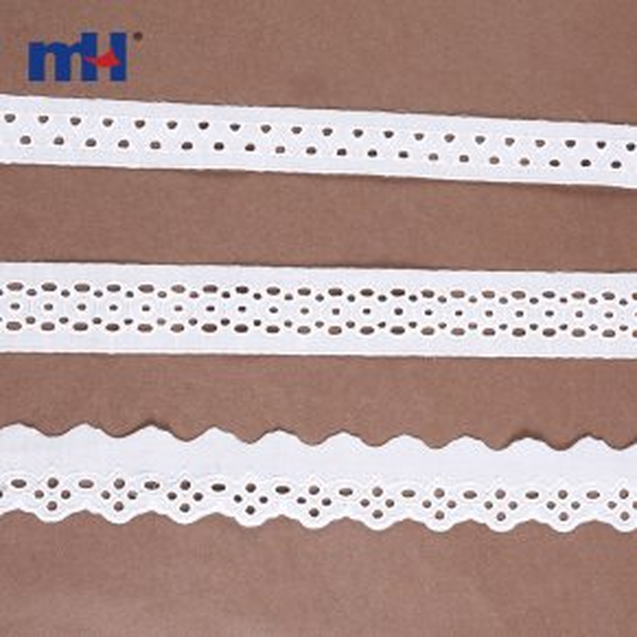 Bordure en dentelle de coton 0573-1424-1