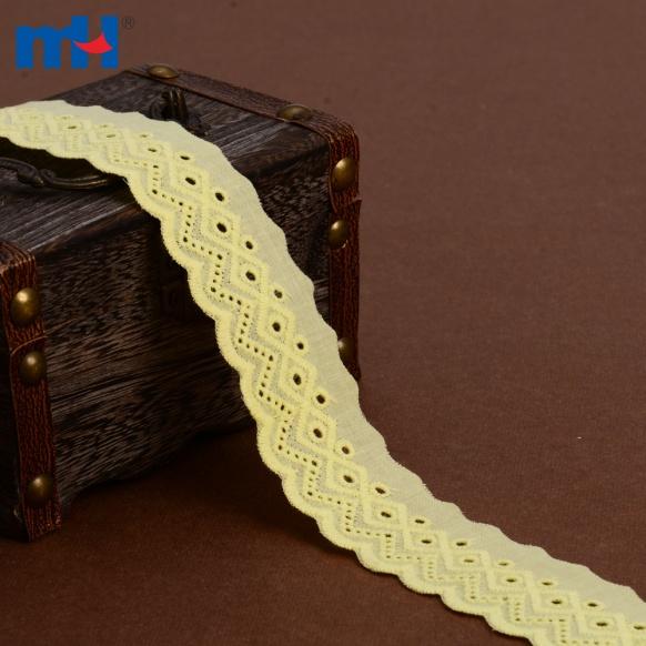 Bordure en dentelle de coton 0573-1423-1
