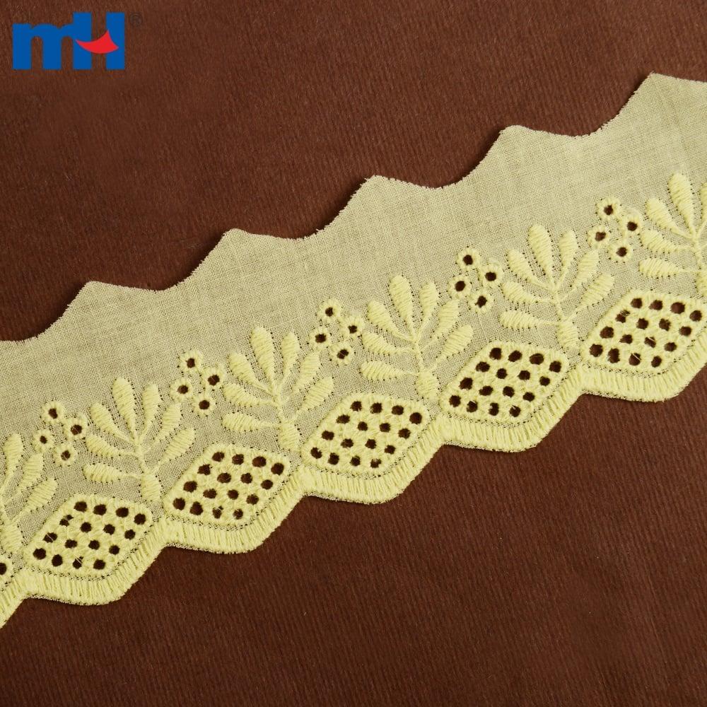 Ajuste de encaje de algodón 0573-2348
