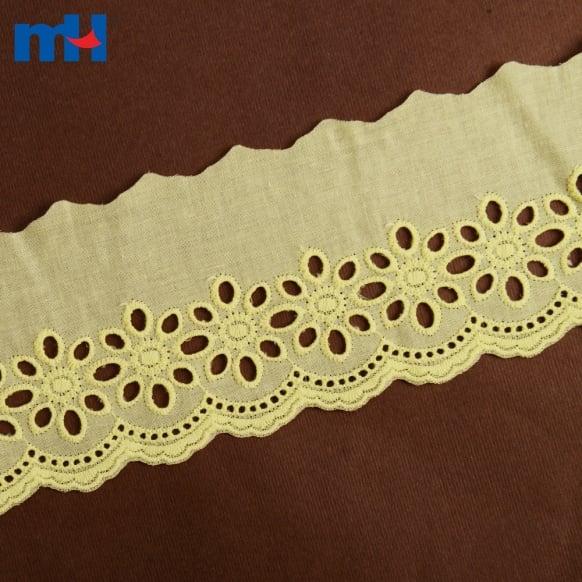 Coupe en dentelle de coton 0573-2239a