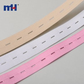 20mm buttonhole elastic