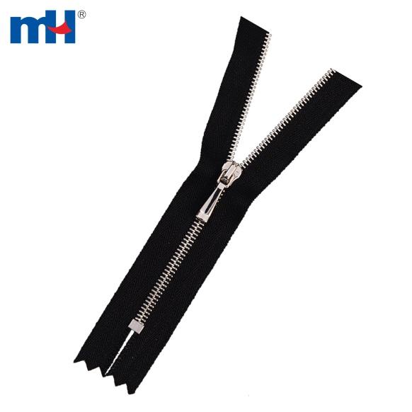 #1 Platina Brass Zipper para bolsas