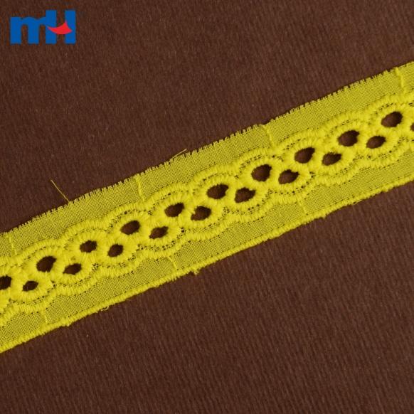 Ajuste de encaje de algodón 0573-1481-1