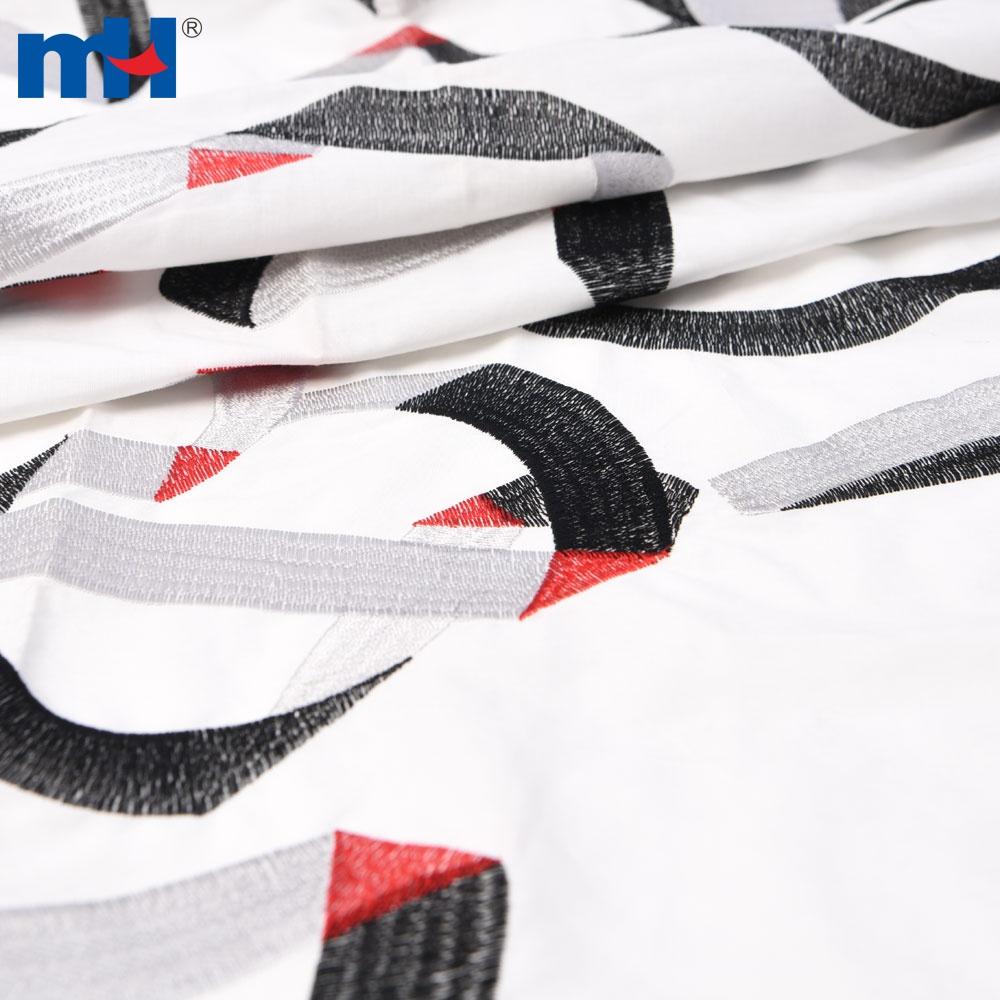 Cotton lace fabric 1K4791