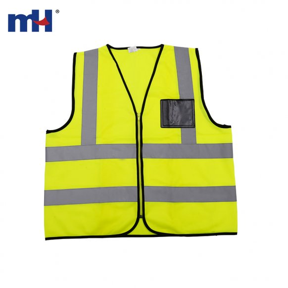 reflective yellow safety vest