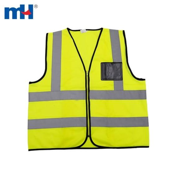 chaleco de seguridad amarillo reflexivo