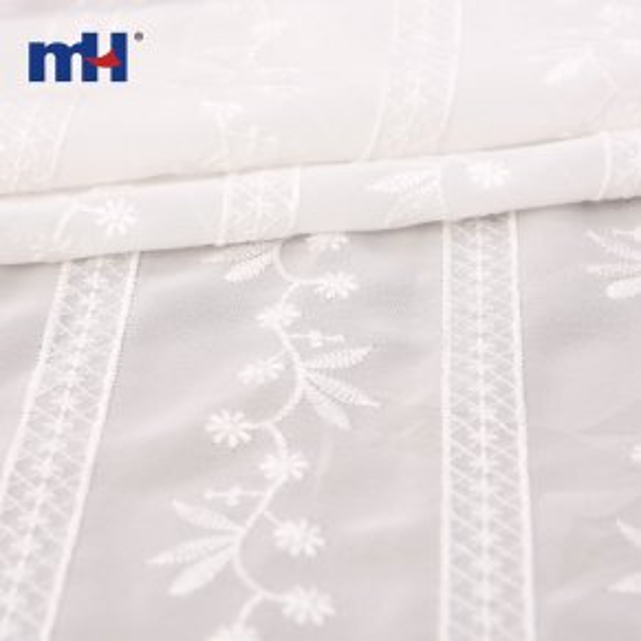 tela de algodón a rayas
