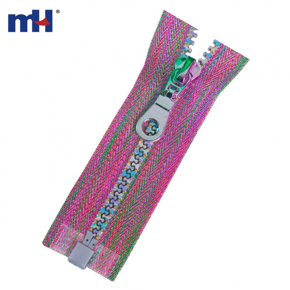 multi-color tape zipper