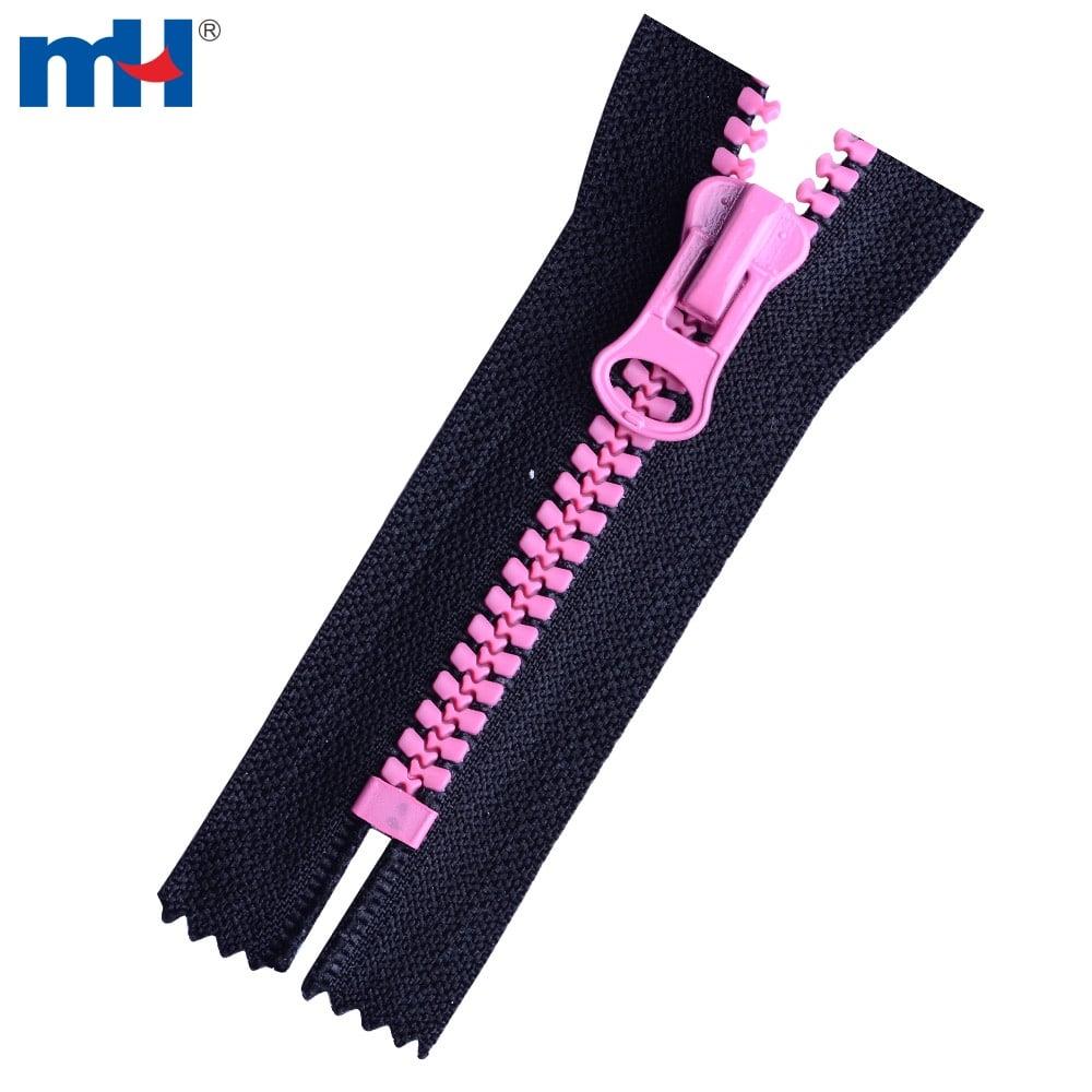 color teeth zipper
