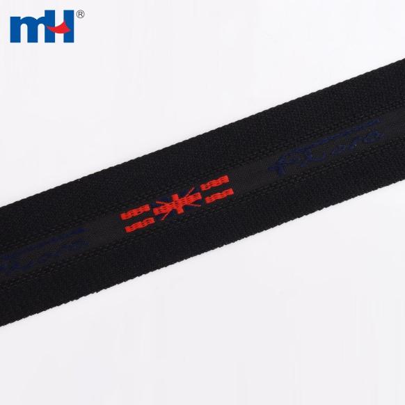 حزام أسود منسوج