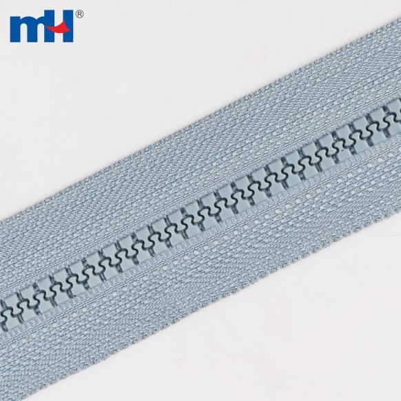 0237-2104-1 #5 plastic zipper