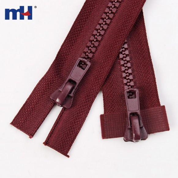 0232-4002-2 #8 two way resin zippers