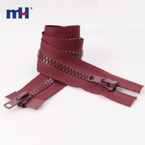 0232-4002 #8 two way resin zippers