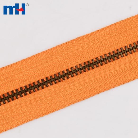 0249-3013-1 catena lunga in metallo con cerniera