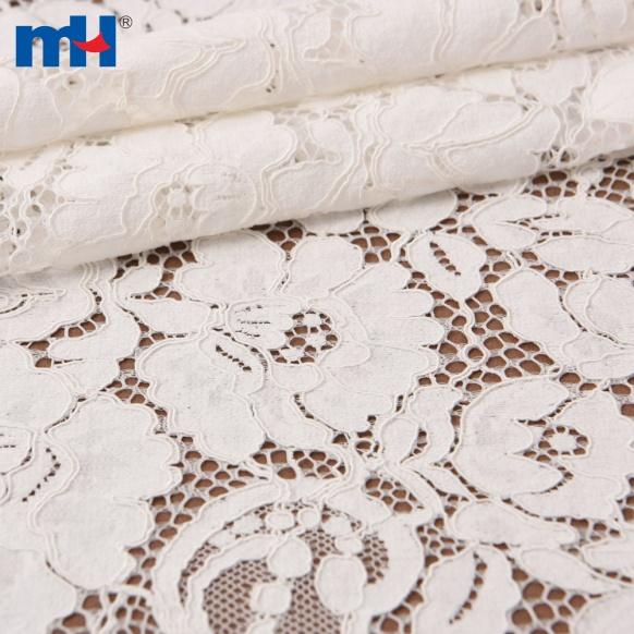 tissu de dentelle de cordon