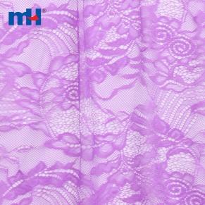 tela de encaje morado