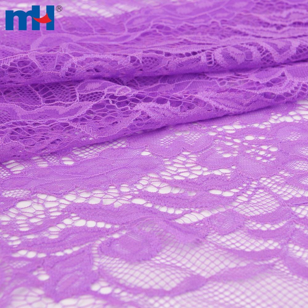 tissu de dentelle en nylon