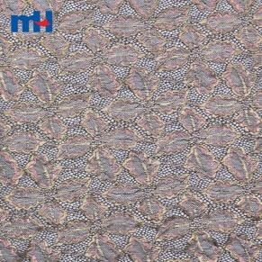 dentelle de nylon métallique