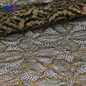 metallic lace fabric