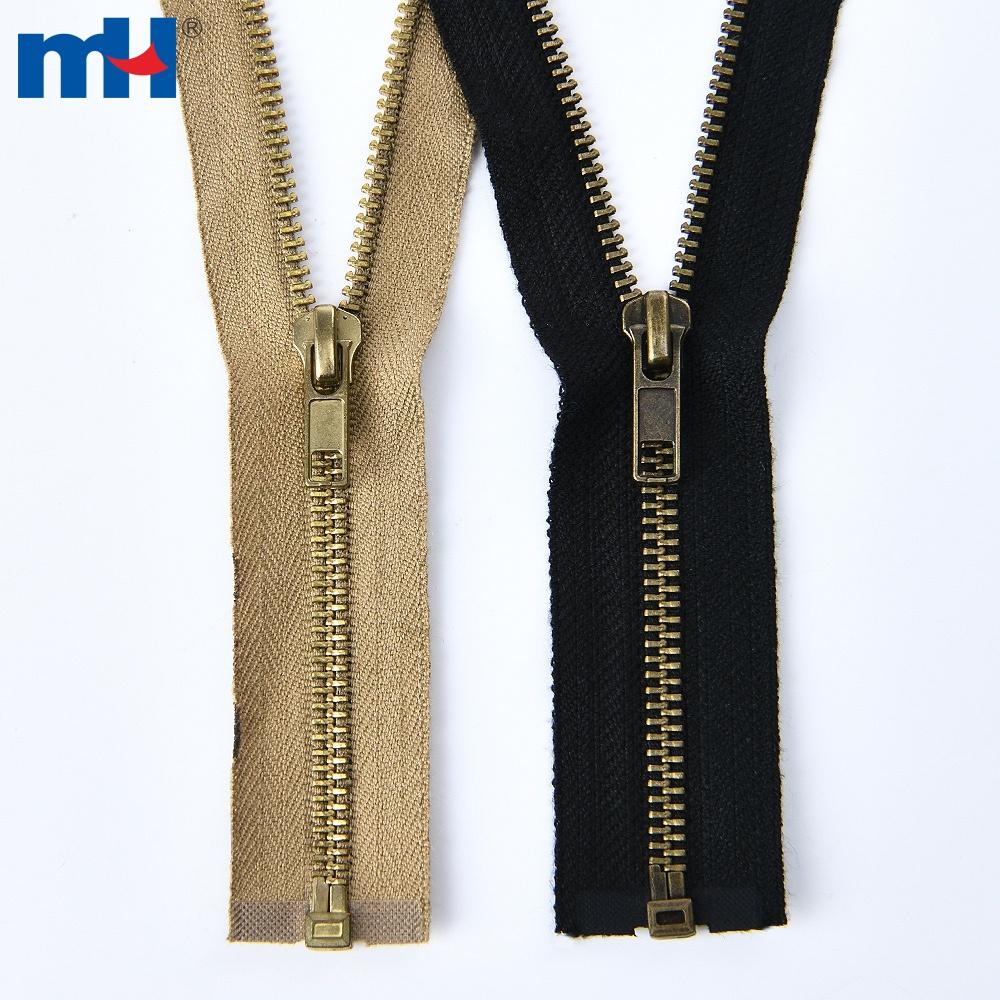 0288-1005 #5 brass fire retardant zipper