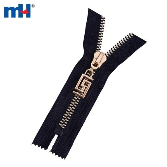 #5 corn teeth plastic zipper