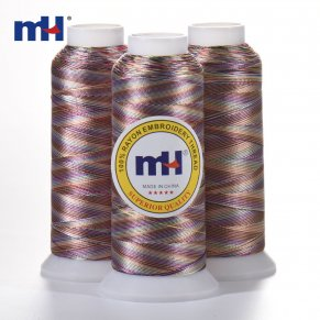 120d variegated embroidery thread