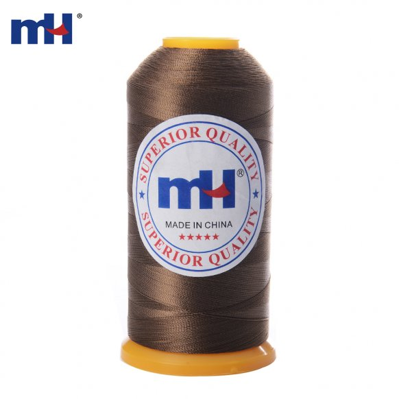 100 Polyester thread 210D 2 brown