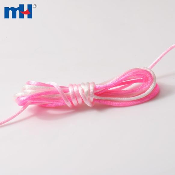 0371-3027 cuerda de cola de satén