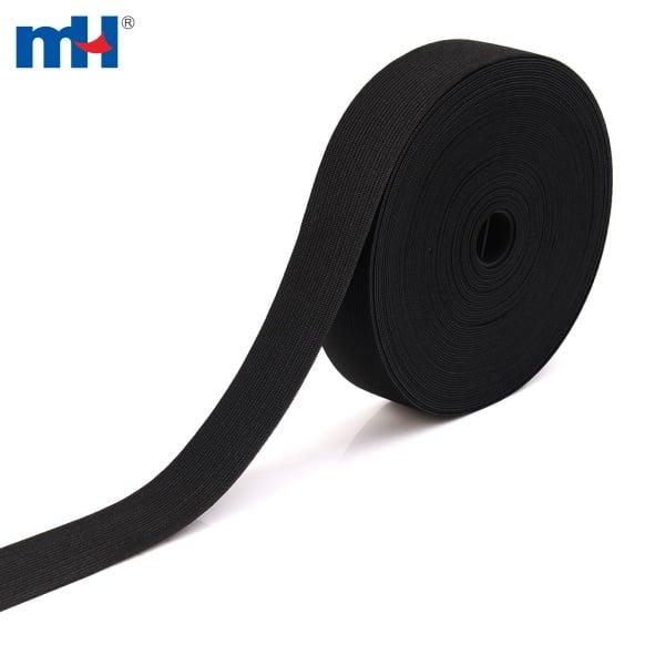 0141-4906 black knitted elastic