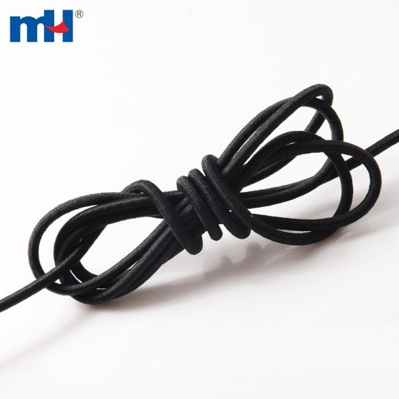 0370-0300 черный эластичный шнур