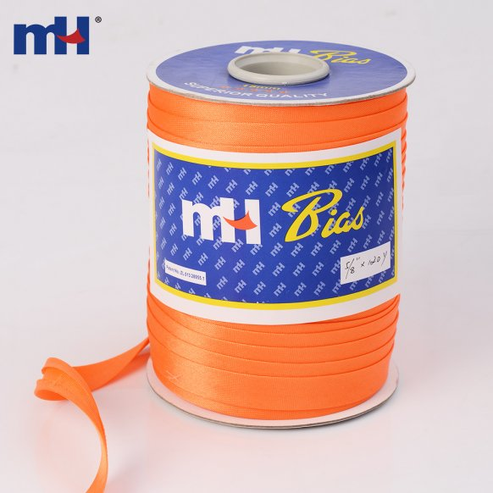 15mm polyester bias tape