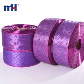 purple christmas ribbon