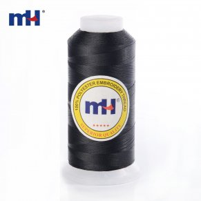 black embroidery thread