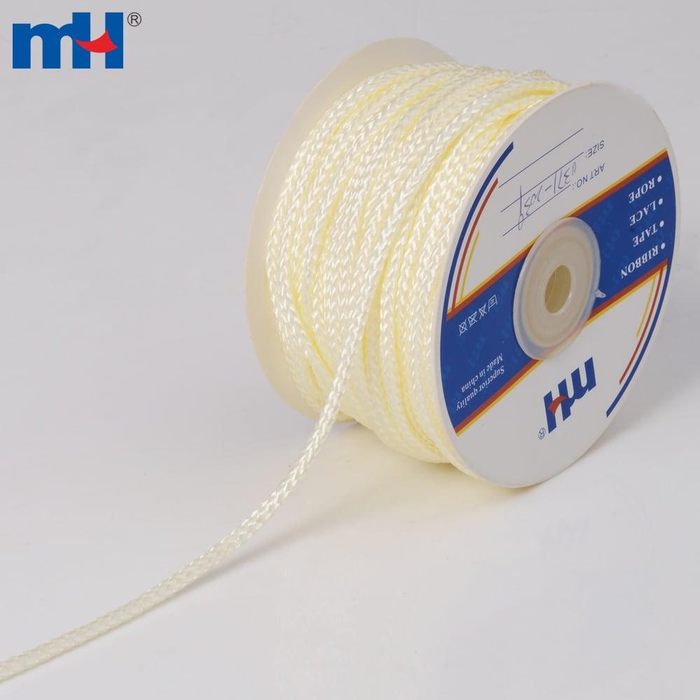 Braided Rope Polypropylene Pp 3mm Cream