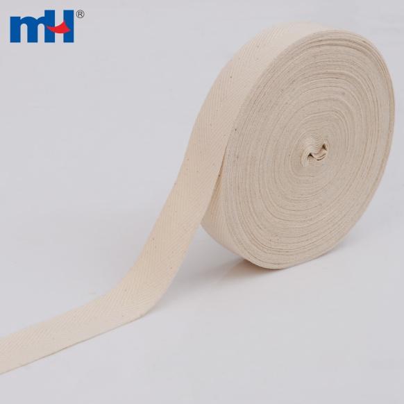 Cotton twill tape