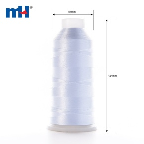 polyester embroidery thread 5000m