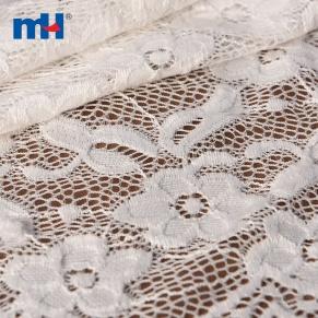 Tricot dentelle tissu
