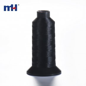 black tenacity polyester thread