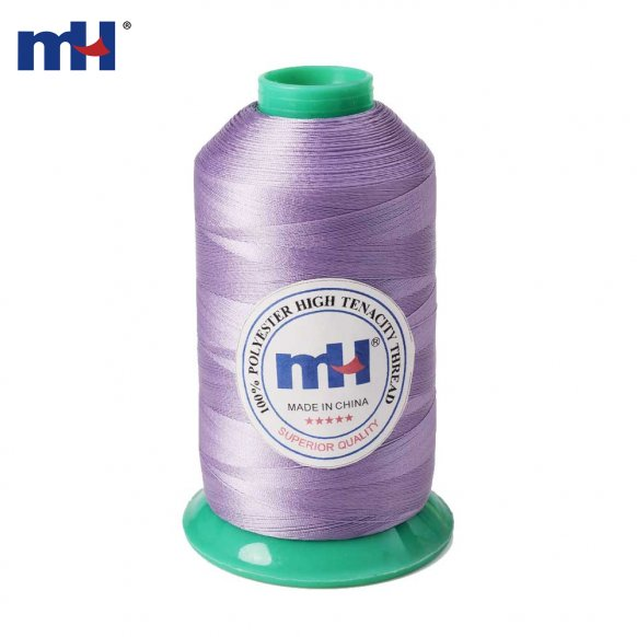 UV resistant polyester thread