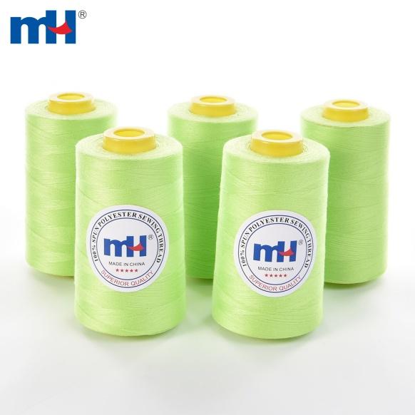 60 / 3 60s / 3 100% Шпунтовая полиэстерная швейная нить