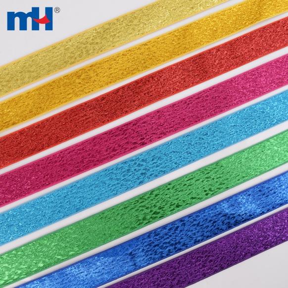 glitter mesh ribbons
