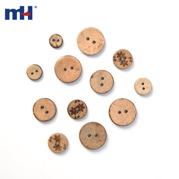 Coconut Button 0319-0156