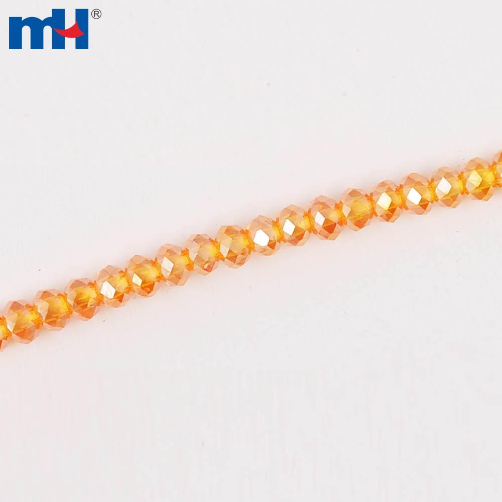 MHNE-0201 扁珠 3mmAB 彩