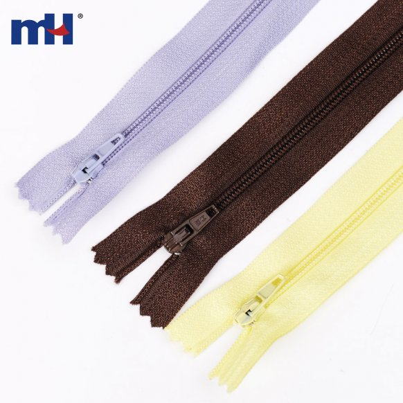 nylon coil zipper