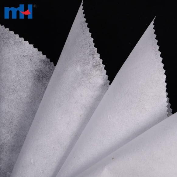 Tela de respaldo de bordado de algodón reciclado