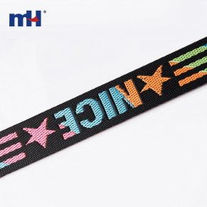 colorful polyester webbing bag strap