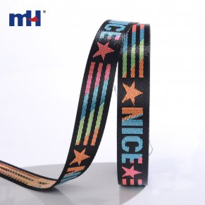 colorful jacquard webbing strap